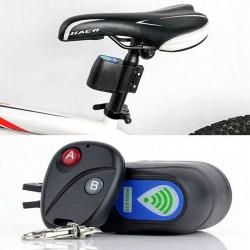 Professional anti-theft bike lock - wireless control - with remote