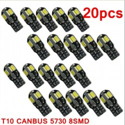 T10 12V Canbus Led car interior bulb - Error Free - 20 pieces