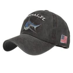 Shark originale vintage - cappellino da baseball in cotone con ricamo - unisex