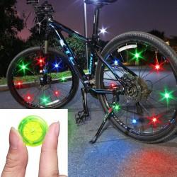 Luce per raggi ruota bici - spia LED - impermeabile - TL2411