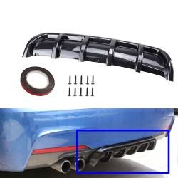 Car universal spoiler chassis fin - rear bumper