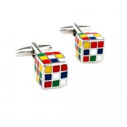 Gemelli con cubi colorati