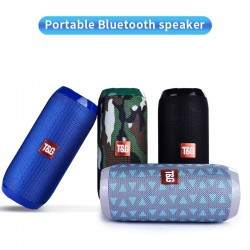 TG117 Bluetooth wireless speaker - waterproof - column - TF card - FM radio - AUX