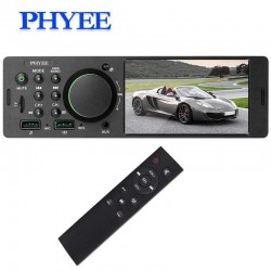 "1 Din - 4.1"" MP5 & audio & video player - Bluetooth - A2DP - USB - TF Aux - remote - camera - car radio"