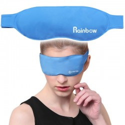 Gel eye-mask - cooling & antipyretics therapy - hot & cold sleeping mask