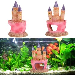 Small aquarium SpongeBob decoration - pineapple house -squidward - easter island - fish tank cartoon decoration
